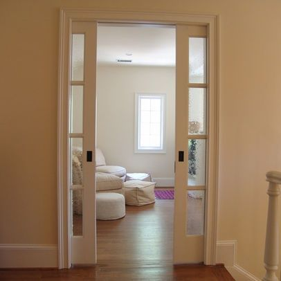 Sliding Pocket Doors Would Look Best As A Bathroom Door Or For A Like Office Study Room Glass Pocket Doors French Pocket Doors Pocket Doors