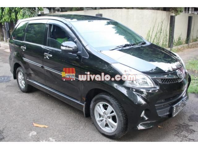 Mobil Bekas Avanza Veloz 1 5 A T 2013 Hitam Mobil Bekas Hitam Mobil