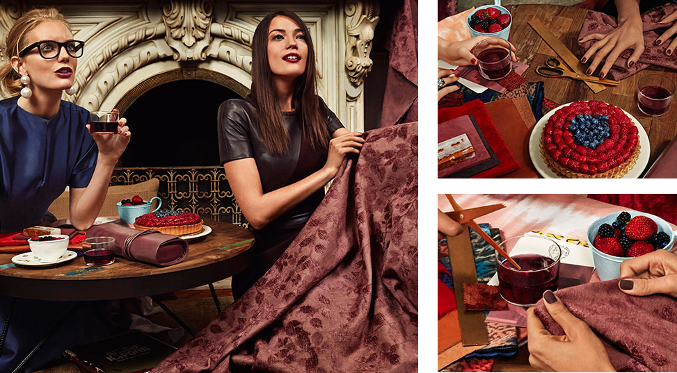 Fleur Notes: PEOPLE OF THE PANTONE HAS SPOKEN AND MARSALA IS THE NEXT TOP COLOUR FOR 2015!