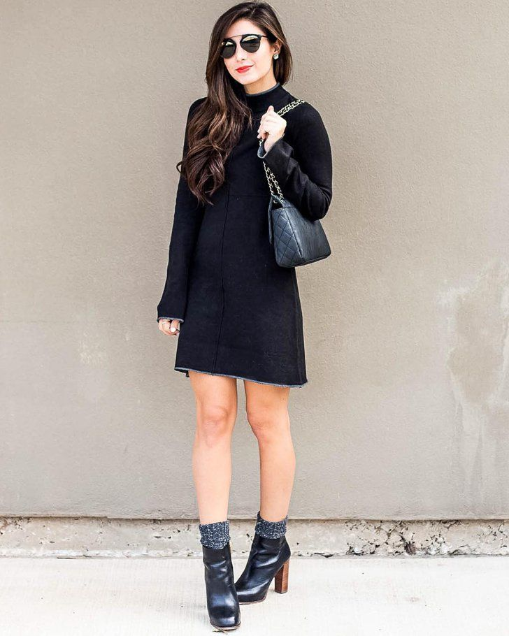 Petite robe et bottines