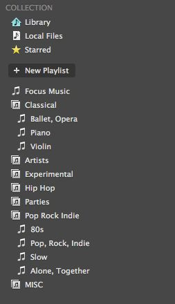 Get Organized How To Organize Your Spotify Playlists Playlist Spotify Getting Organized