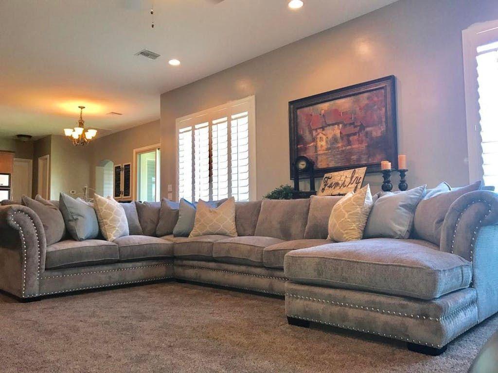 Robert Michael Living Room Fairmont Beth Sectional Furniture Plus Inc Mesa Az