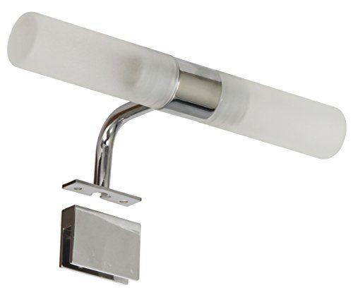 Ranex 3000067 G9 LED Bad-und Spiegelleuchte aus verchromten - spiegelleuchten für badezimmer