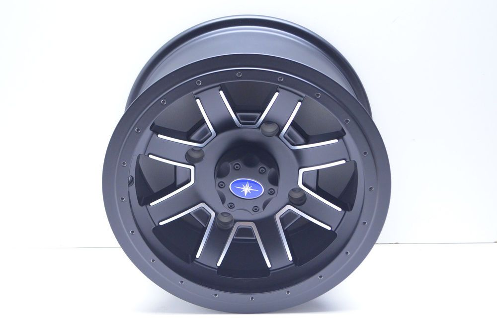 New Oem Polaris Matte Black Front Rim Nos Ebay Motors Parts Amp Accessories Atv Parts Ebay With Images Snowmobile Parts Honda Motorcycle Parts