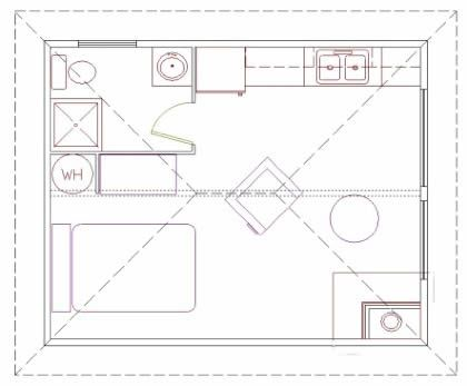 A good basic 2(8u0027 x 20u0027) cabin design Container City Pinterest - best of blueprint container house
