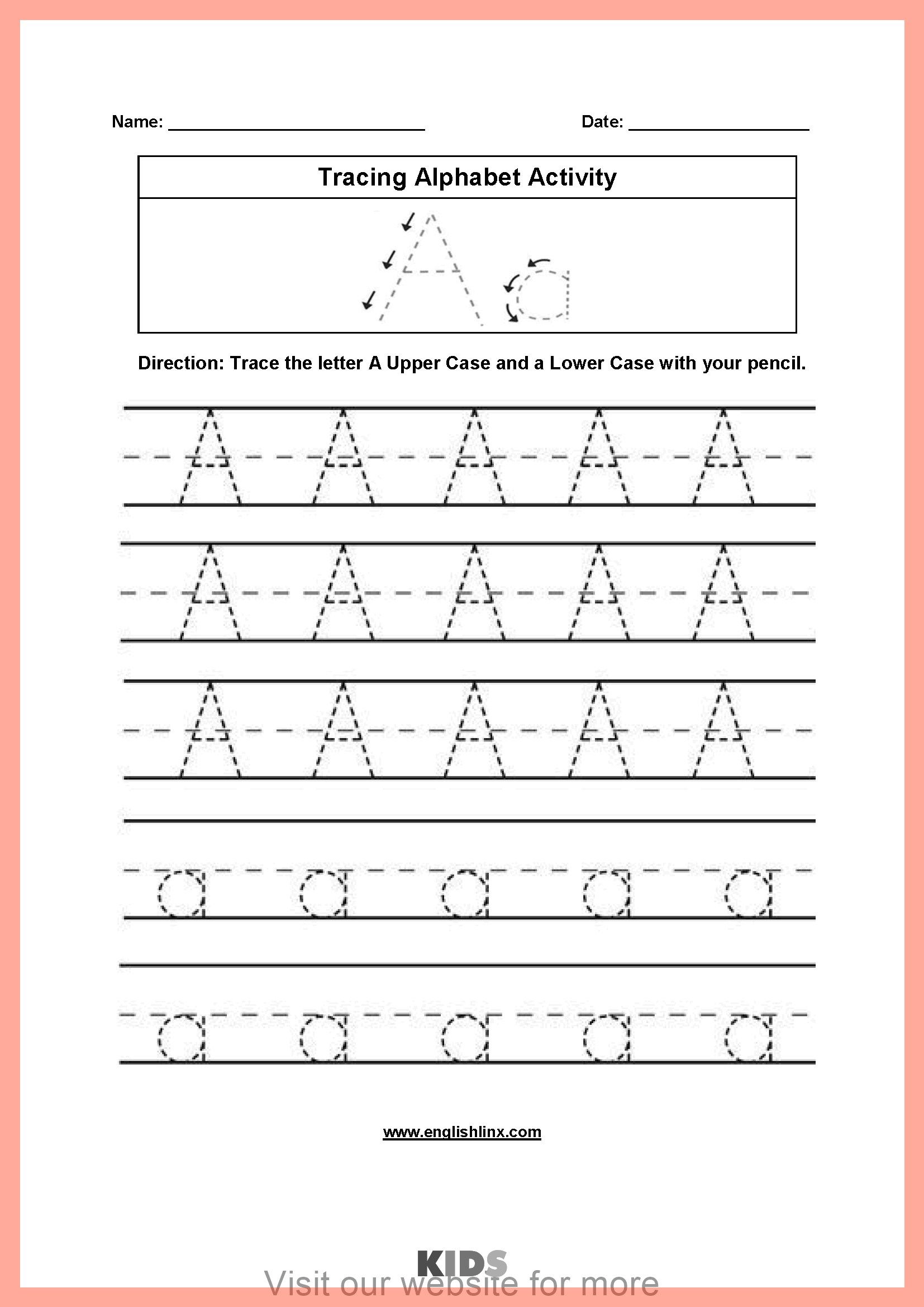 Number Worksheet For Kids In With Images