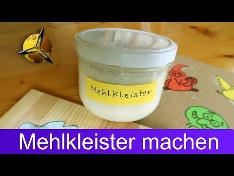 Mehlkleister selber machen / herstellen
