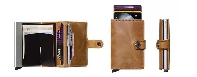 bd5e82d4e Cartera Secrid Mini Wallet Vintage Cognac | Moda Caballeros ...