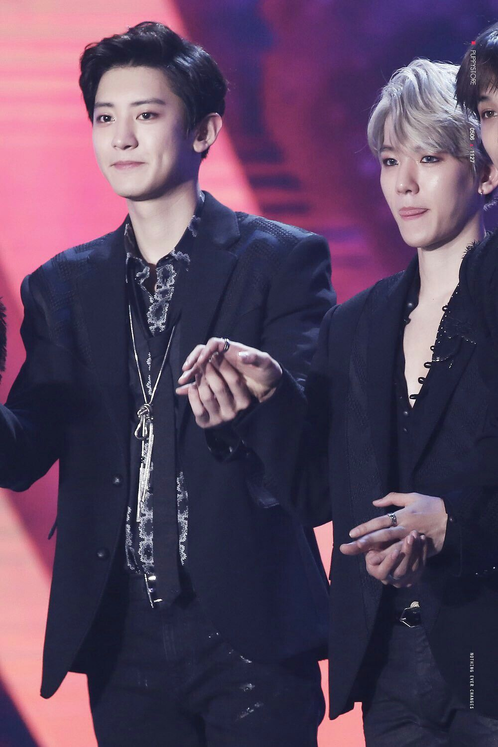 [171202] #EXO #BAEKHYUN #CHANYEOL @MELON music Awards ...