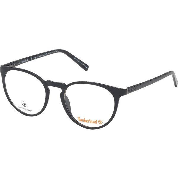 Timberland TB1632 001, Plastic, Black, Green glasses