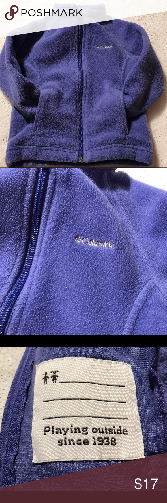 ccdbfda709c8 Columbia Fleece zip up jacket sz 18-24months  Columbia Fleece Jacket ...
