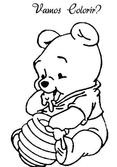Resultado De Imagem Para Pooh Baby Para Pintar Caricatura