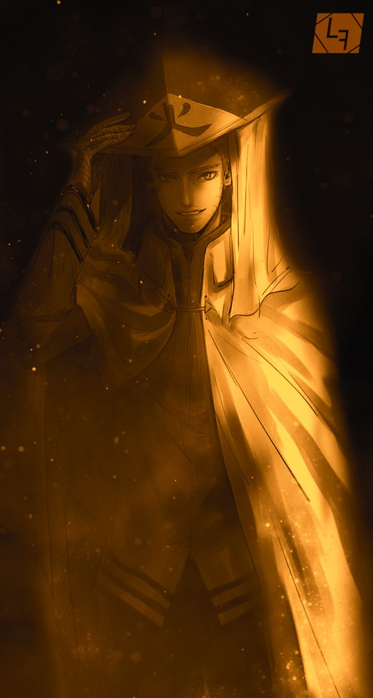 Naruto 7th Hokage Mobile Wallpaper By Le Faul Naruto Anime