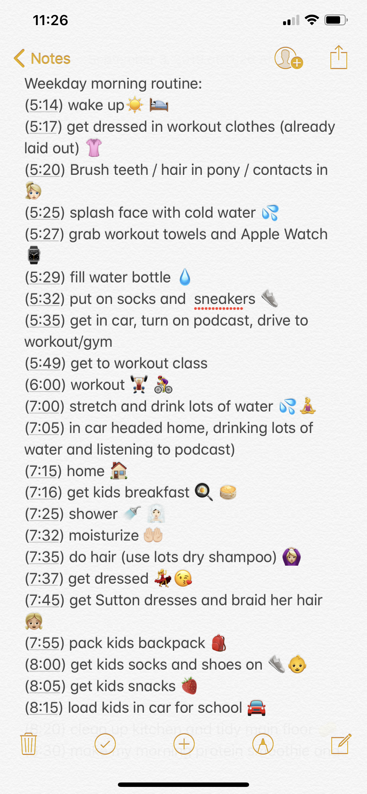 Wellness Wednesday My Crazy Morning Routine In Detail