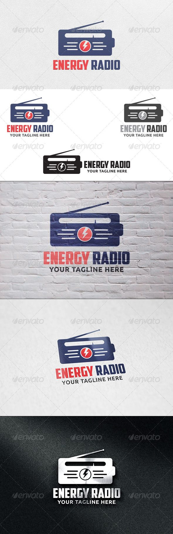 Energy Radio - Logo Template