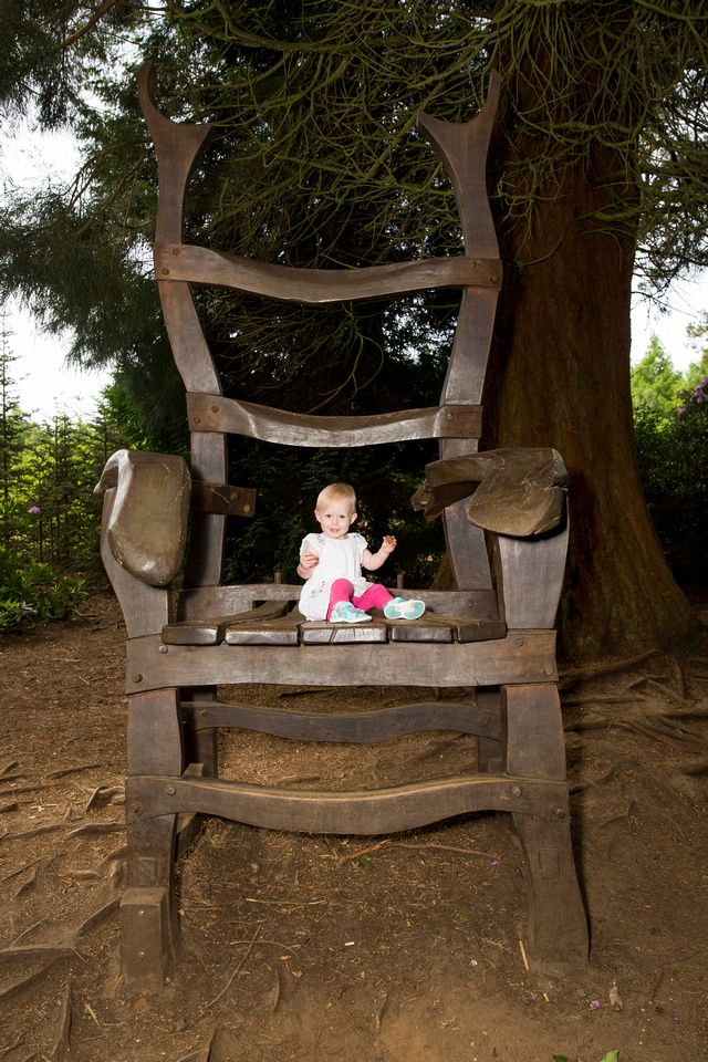 Giant\'s chair #rushmerepark #giant #chair #portrait #family #kids ...