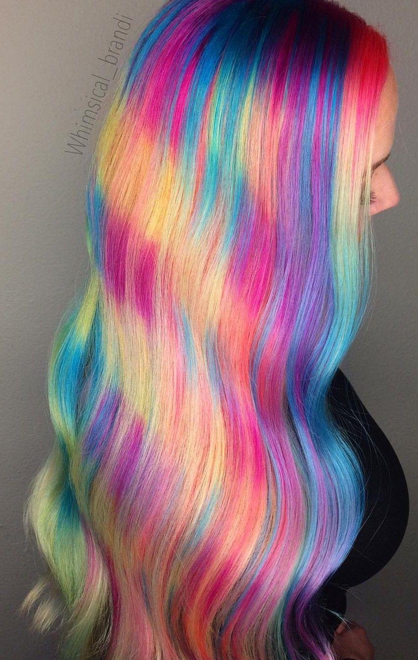 Pin by christina watt on Favorites In Hair Neon hair