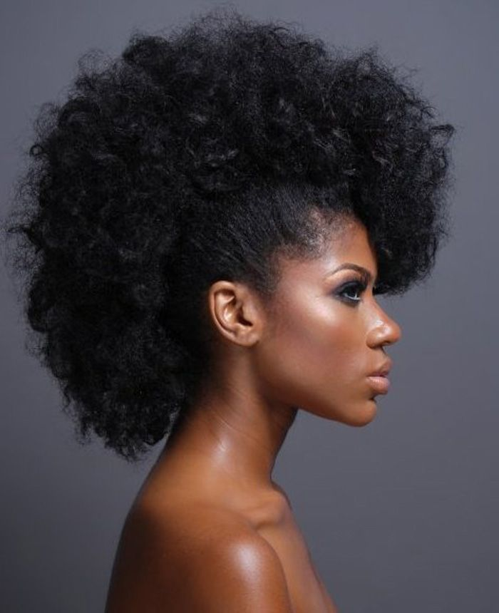 Super 1000 Images About Mohawk Hairstyles For Black Women On Pinterest Short Hairstyles For Black Women Fulllsitofus