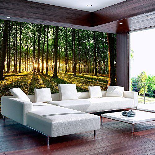 Vlies Fototapete 250x175 cm - 3 Farben zur Auswahl - Top   - wandgestaltung mit drei farben