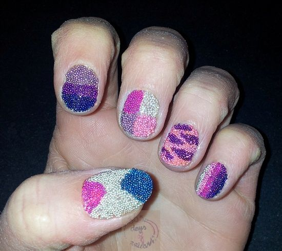 Cute Beadscaviar Designs By Daysofnailartnl Nail Art Gallery