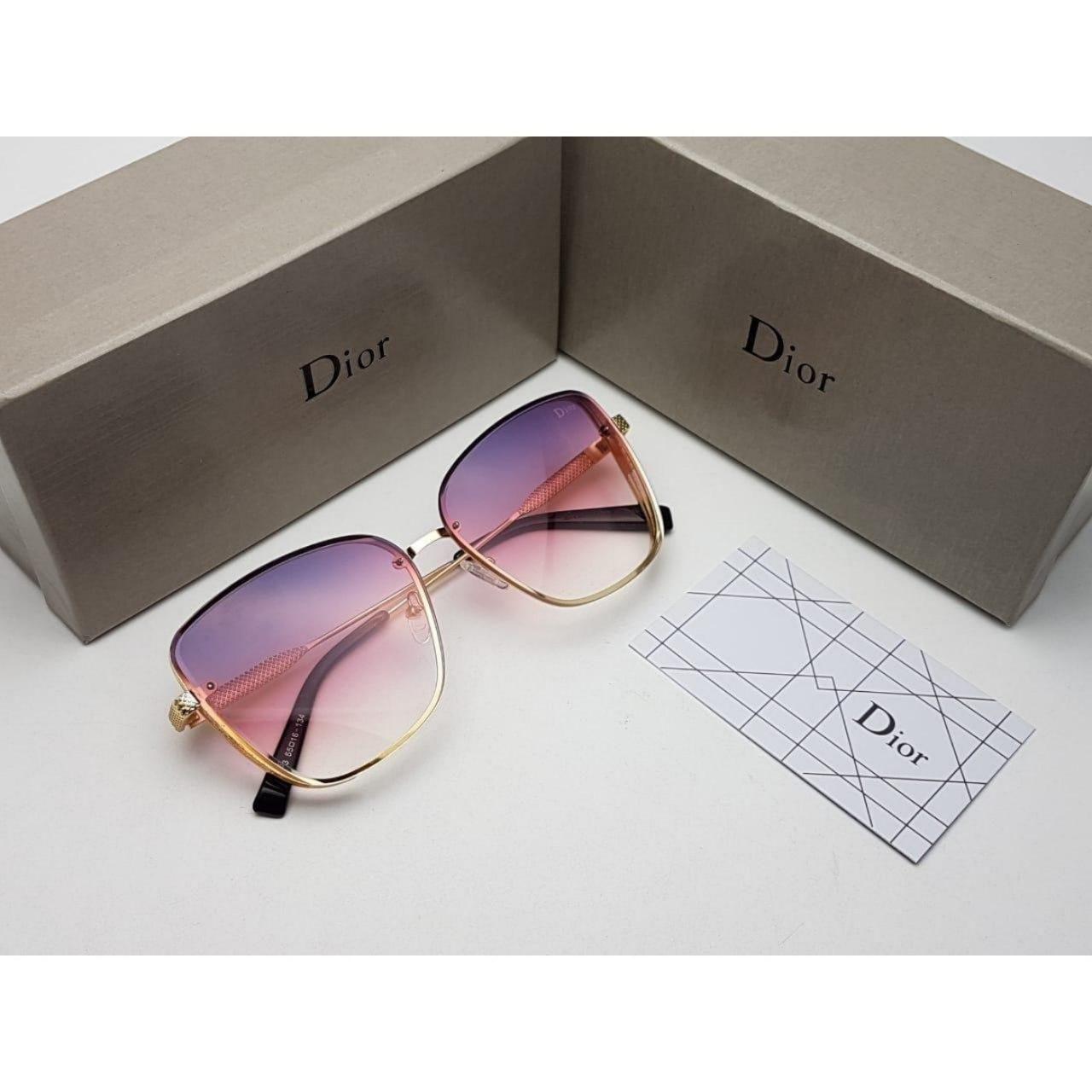نظارات ديور نسائيه Dior بدرجه اولى مع كامل ملحقاتها و بنفس الاسم هدايا هنوف Sunglasses Glasses Oval Sunglass