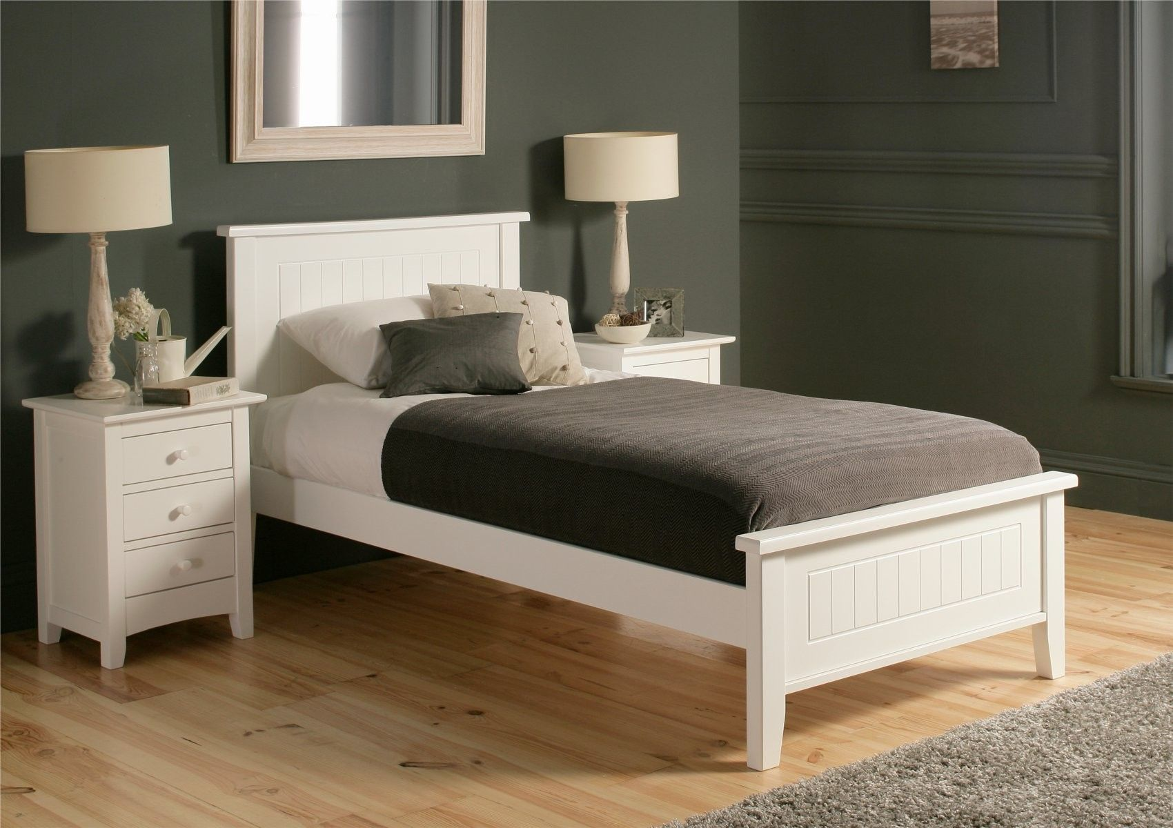 White Frame Wood Google Search Dream Home Pinterest Bed Bed