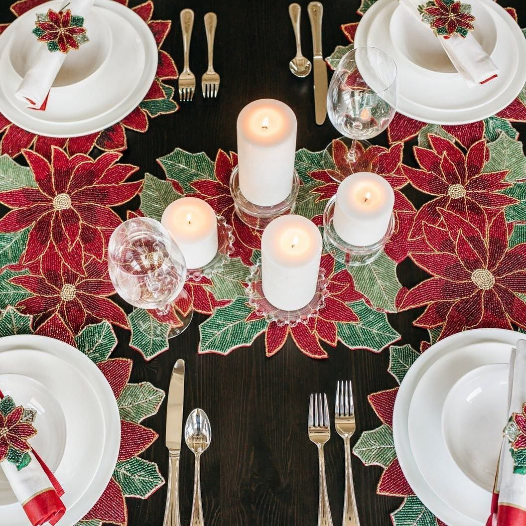 Our Classic Traditional Christmas Table Features Beautifully Crafted