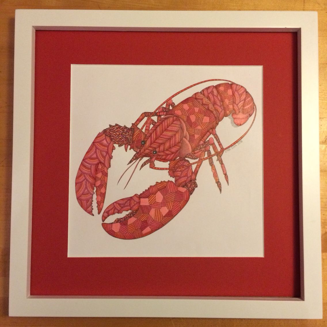 My Lobster From Millie Marottas Animal Kingdom Coloring Book