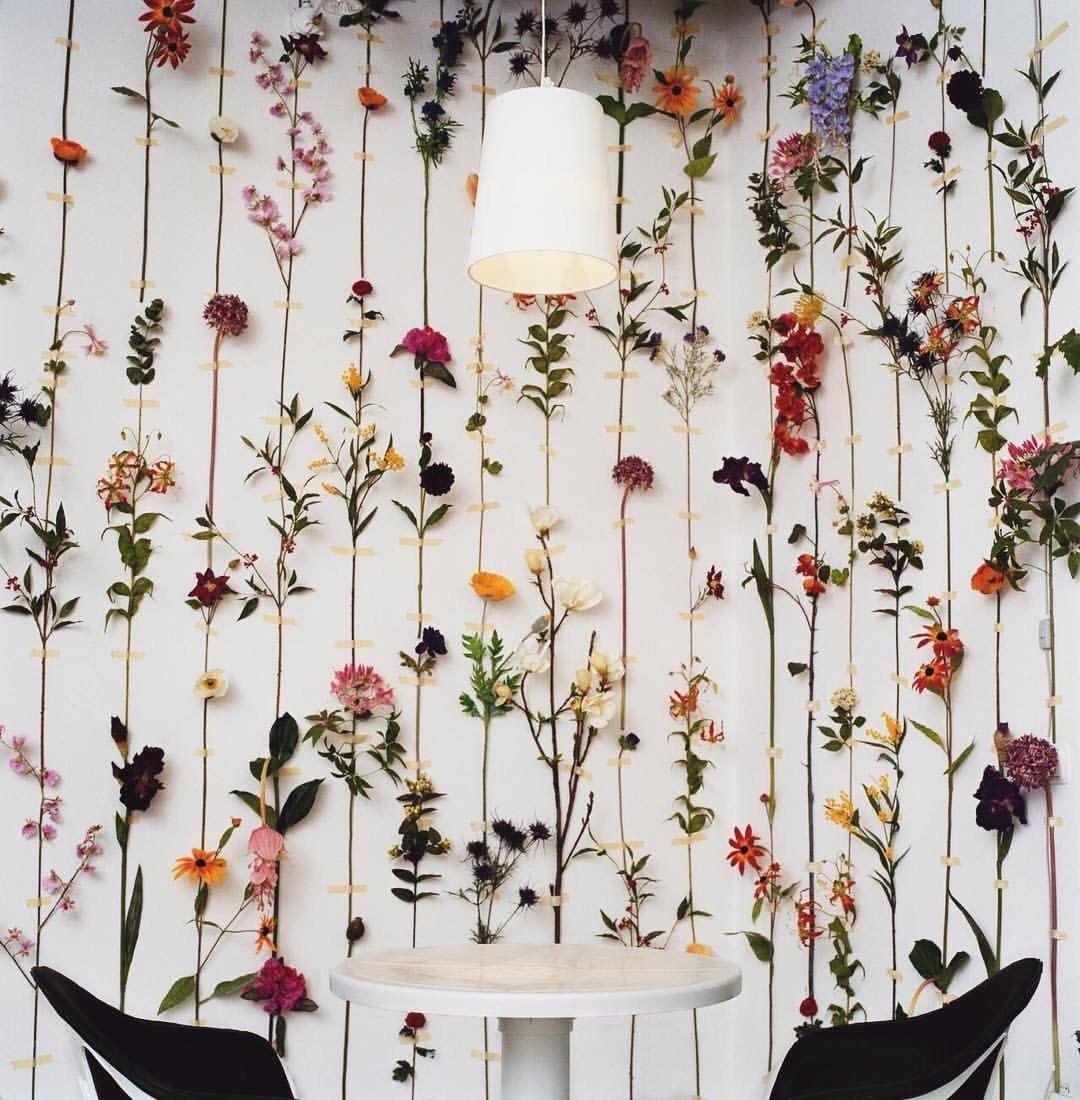 """☮ on Twitter: """"Love it! Indoor wall plant art 🌿🌸🌱🌺 https://t.co/Pjb8N5YS0n"""""""