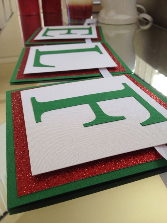 39eef1a860fce Great Idea for Elf on the Shelf Welcome Banner or Christmas/Holiday Party  Decorations by TwoChihuahuas