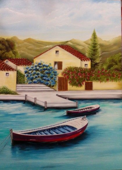 Atelier Paula Almeida óleo sob tela