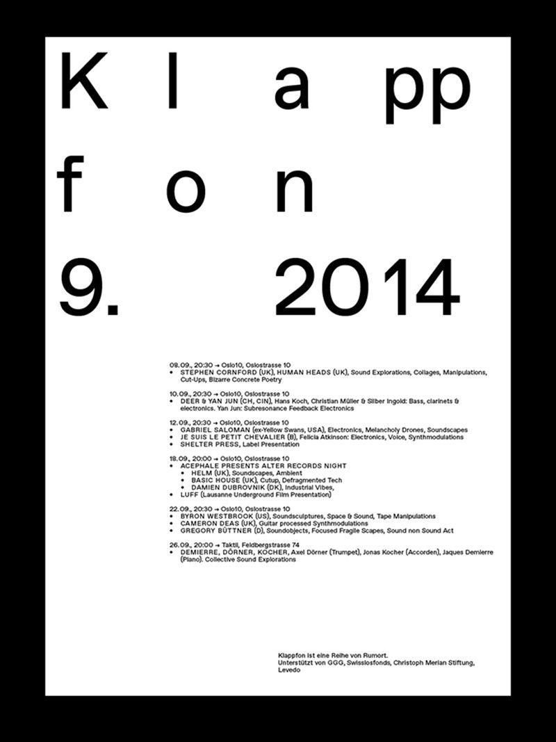 Dan Solbach Typography Typography Design Design