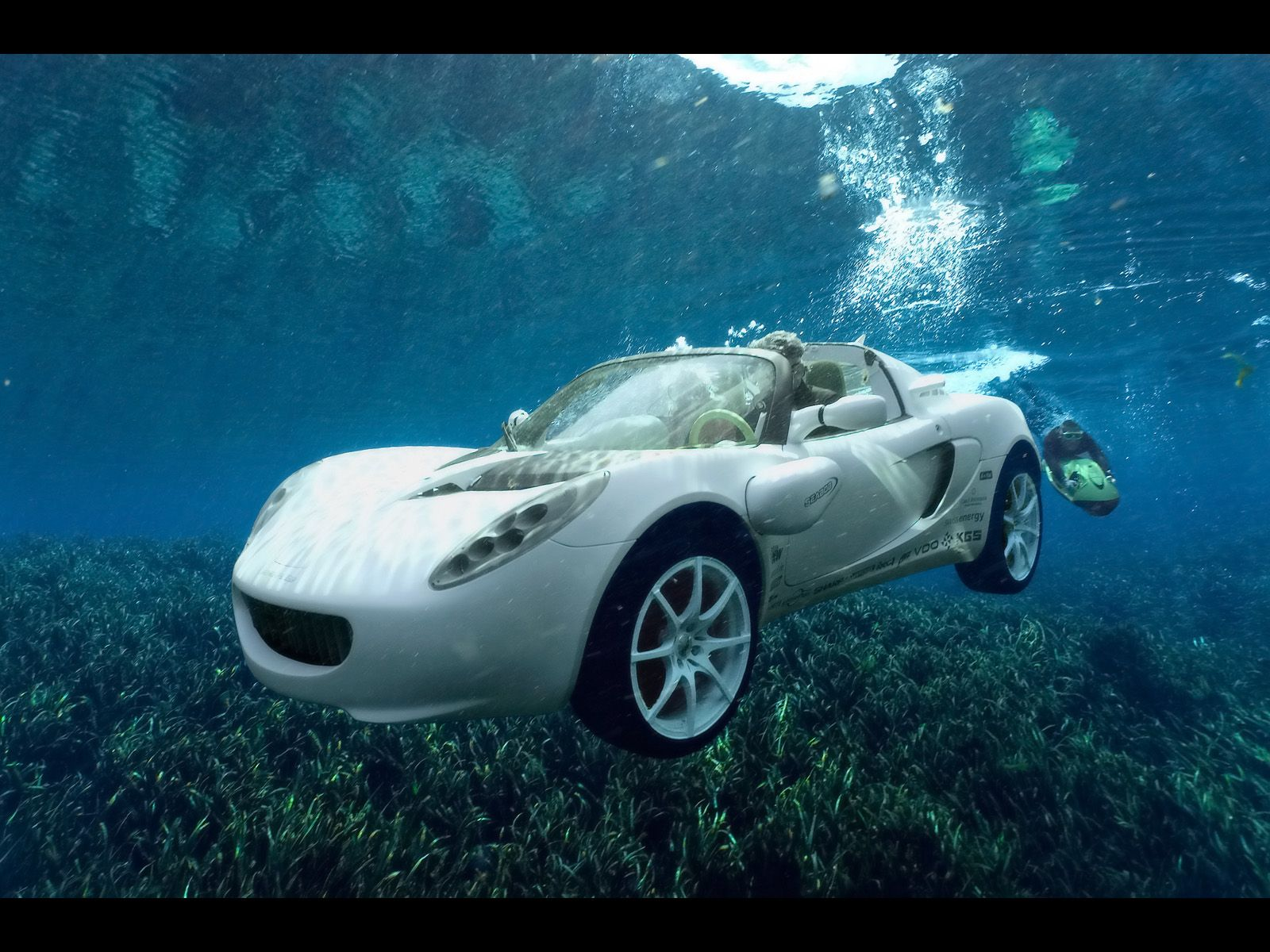 Rinspeed Squba Lotus Elise Modified Submarine Bond Cars Concept Cars Underwater