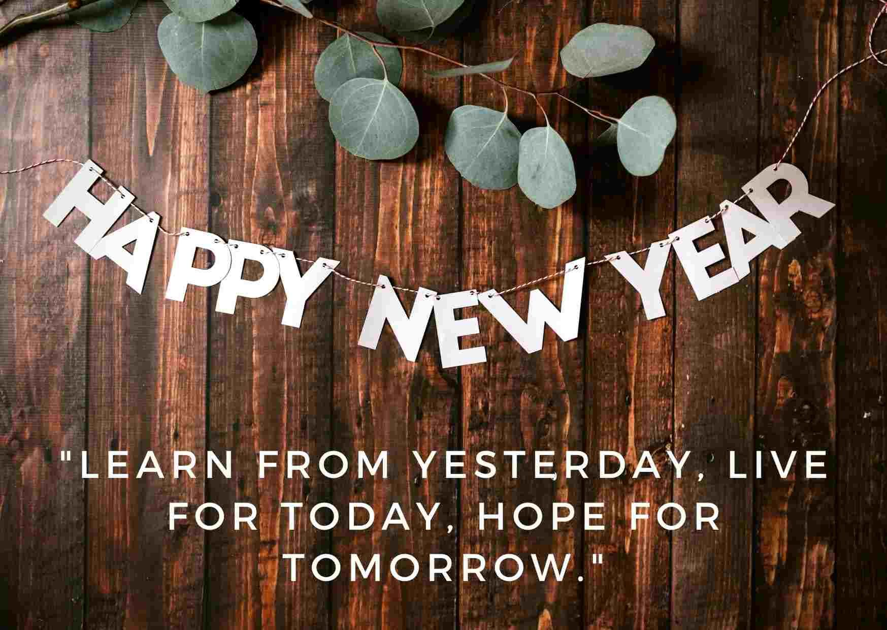 Happy New Year Images With Quotes