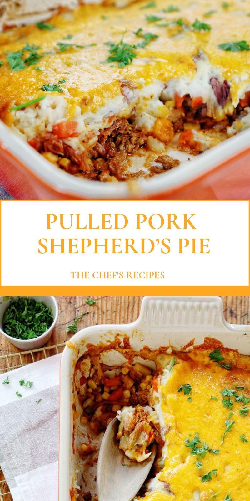 PULLED PORK SHEPHERD'S PIE #shepardspie