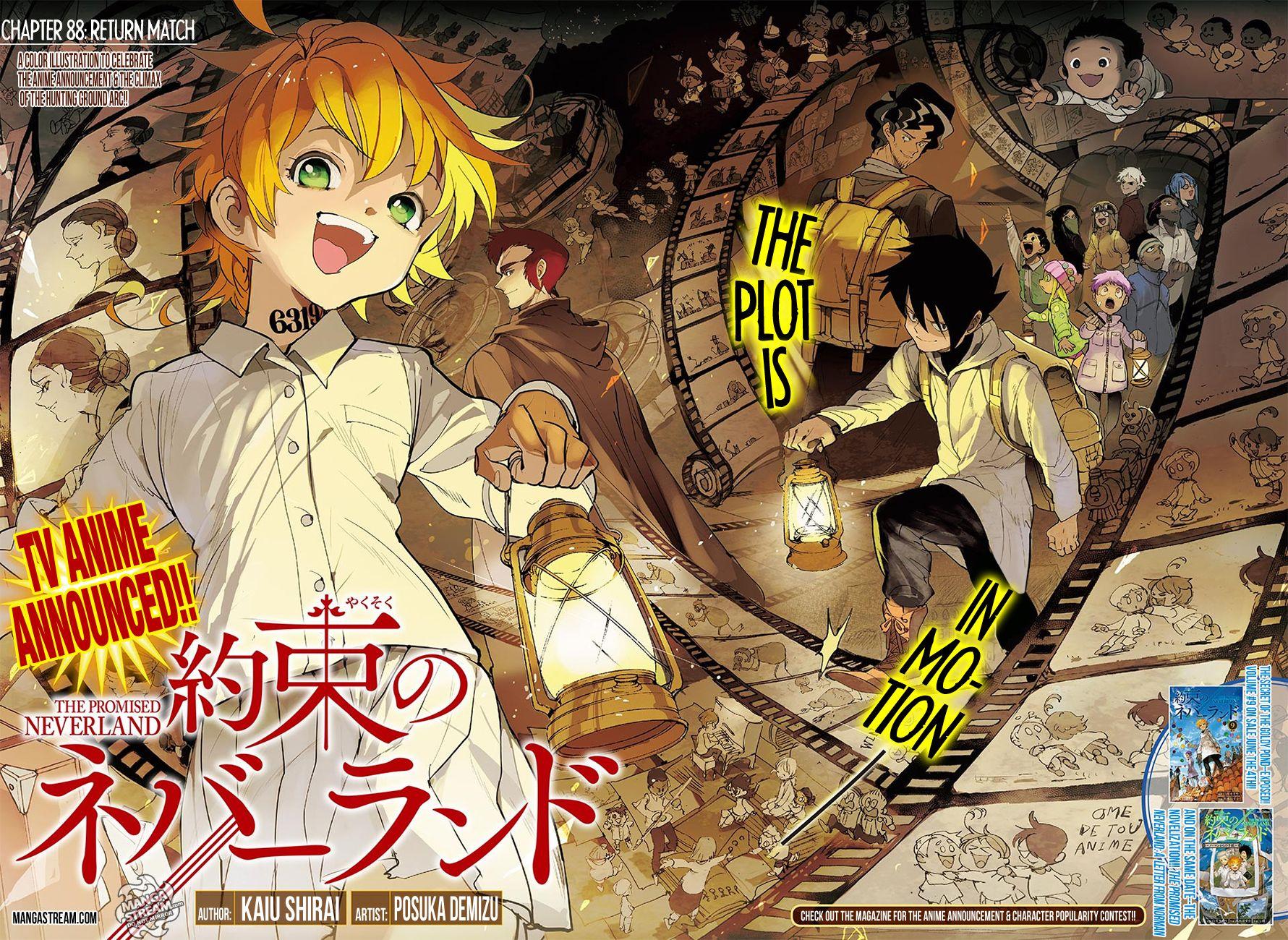 The Promised Neverland 088 Page 4 Manga Stream
