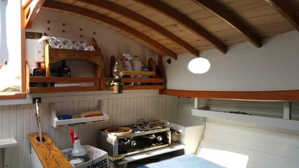 """1935 22' Catboat """"Teaser"""" - Antique Classic wooden sailboat"""