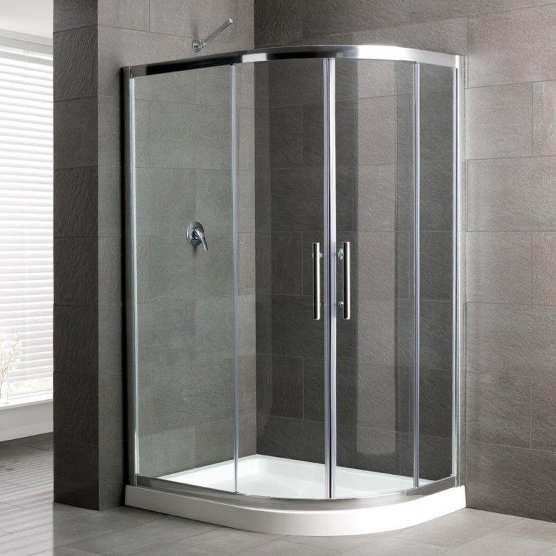 Eastbrook Volente Offset Quadrant Shower Enclosure | Quadrant shower ...