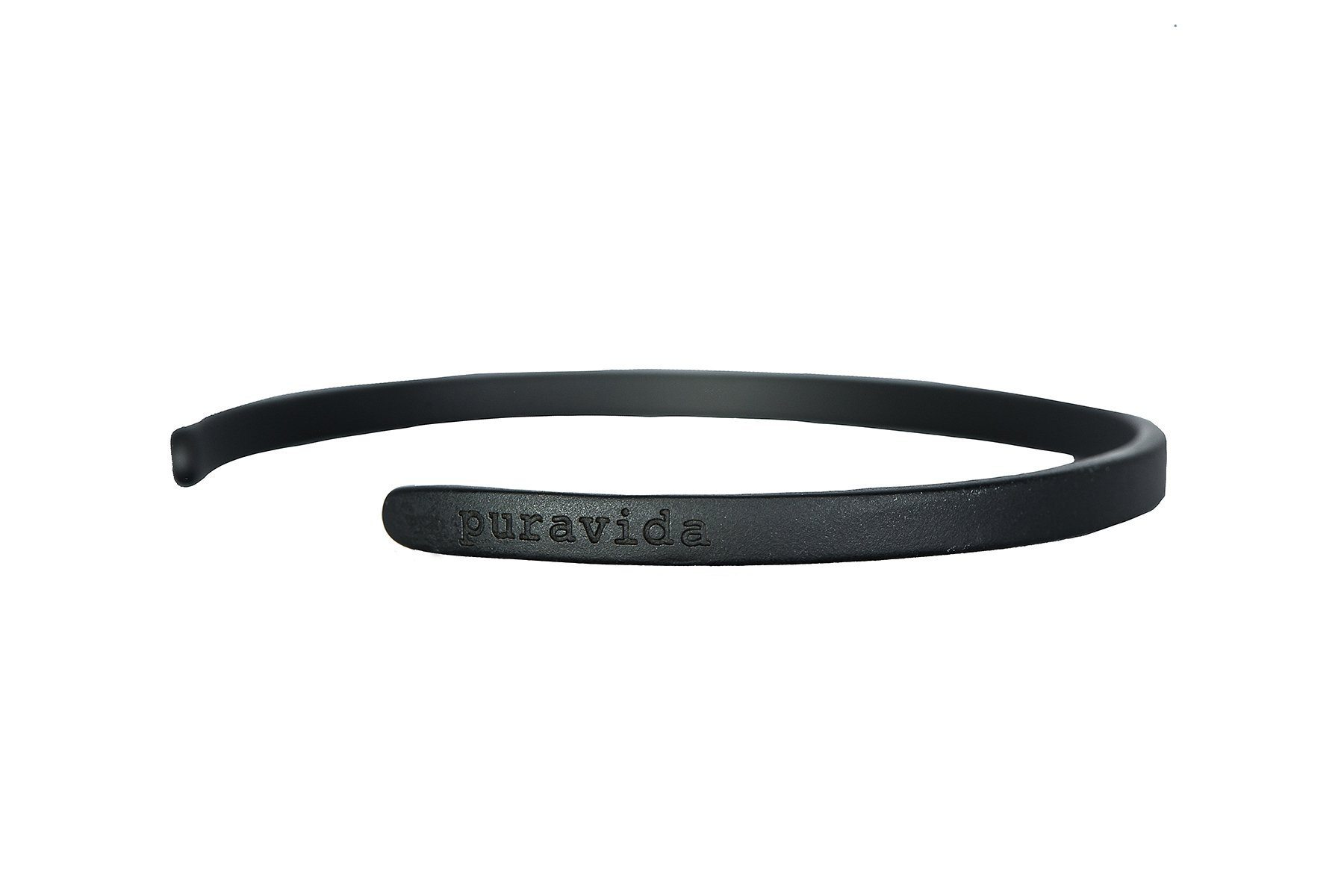 Pura vida cuff pura vida pura vida bracelets matte black