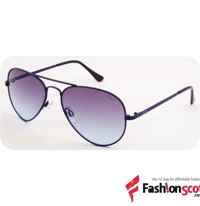 Idee Sunglasses IDEE S1700 C6 Aviator IDEE S1700 C6 Aviator Sunglasses Men Women Blue Lens Designer Metal Frame Polycarbonate 100% UV Protected UV Block Metal-Injected plastics Lightweight Trendy Eyewear.