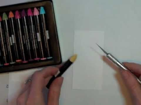 Learn How To Use Your Watercolor Wonder Crayons For Encaustic