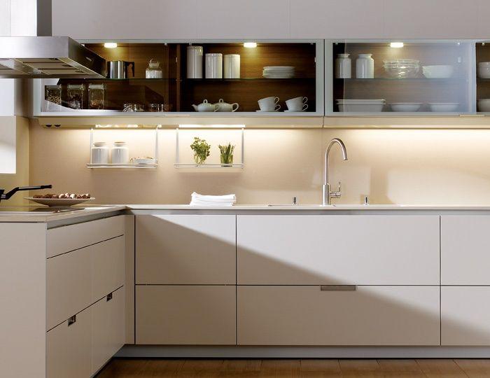 cocinas #color #crema #diseño de cocinas. #Linea3Cocinas #Madrid ...