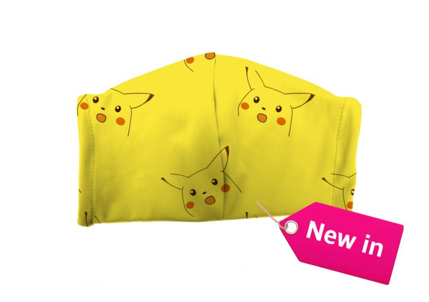 Pikachu meme face mask en 2020