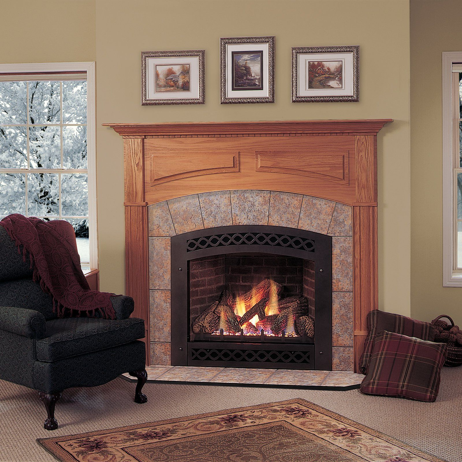 Majestic Lexington Direct Vent Gas Fireplace