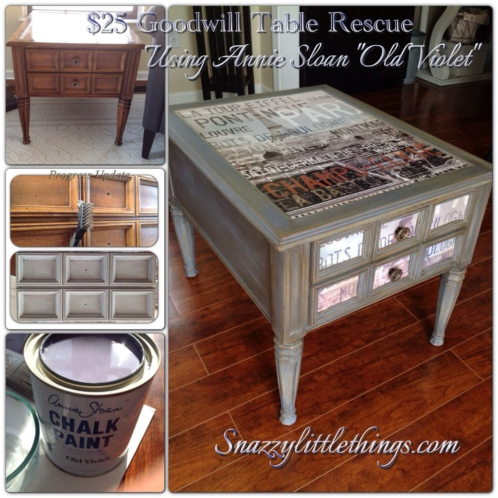 Attractive DIY Goodwill Table Upcycle