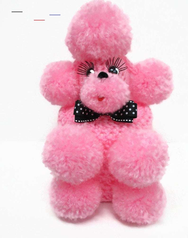 Baby Pink Toilet Tissue Poodle Cozy Kitsch 1950 S Style