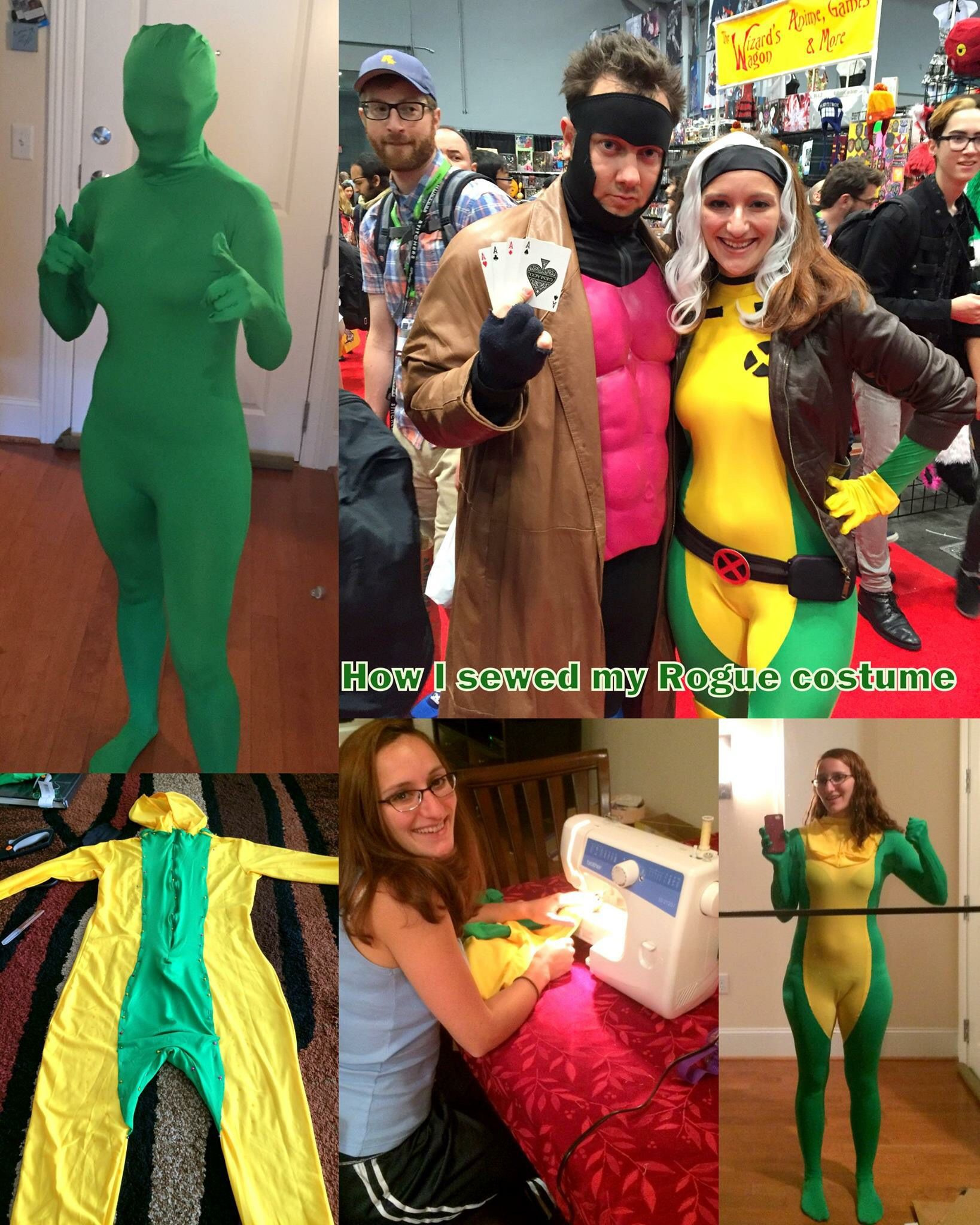 Diy x men rogue costume costume pinterest rogue costume diy x men rogue costume solutioingenieria Gallery
