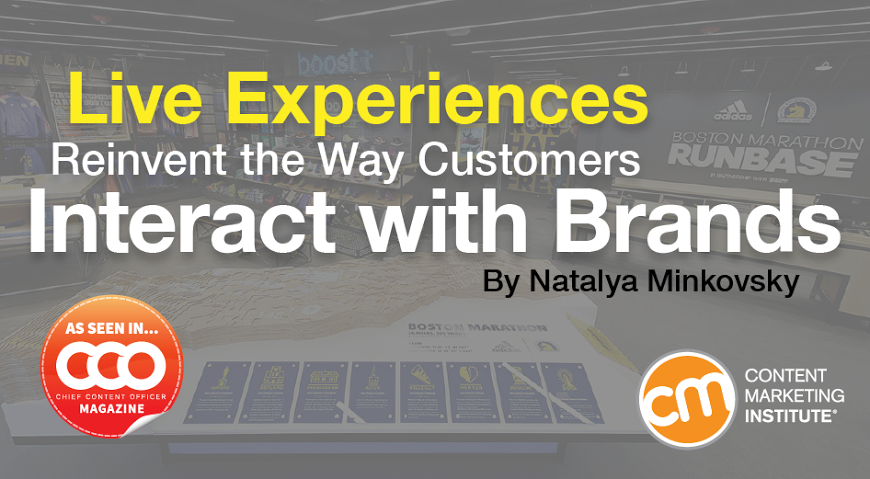 Live events rank as the most effective tactic. Learn how to invite customers to engage with your brand in the real world. – Content Marketing Institute