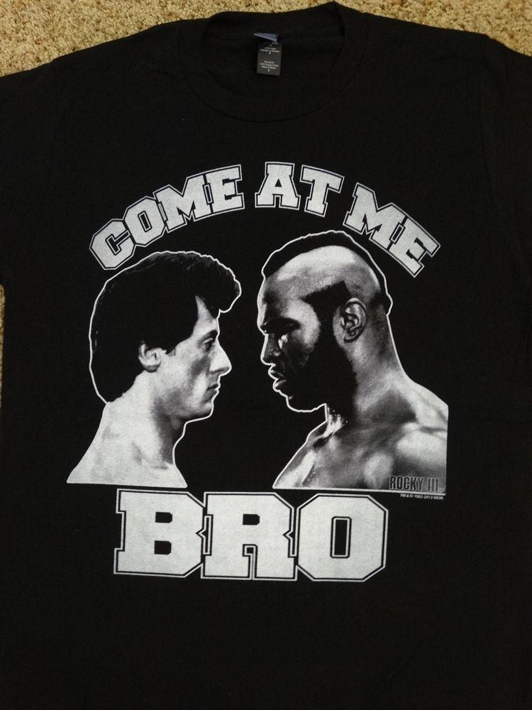 Rocky Balboa vs Clubber Mr T Come At Me Bro T-Shirt #Rocky #GraphicTee