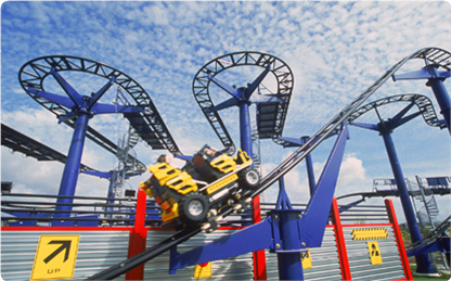 Lego Technic Test Track At Legoland California